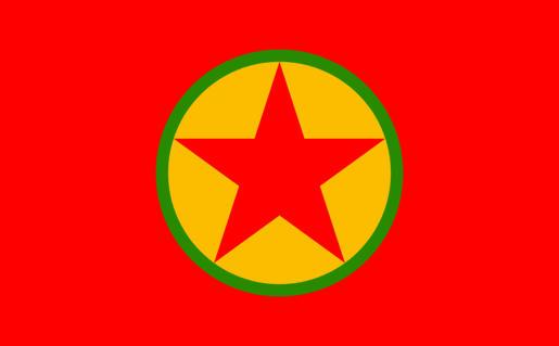 Bandera-del-Partido-de-los-Trabajadores-de-Kurdistán-conocido-por-sus-siglas-PPK