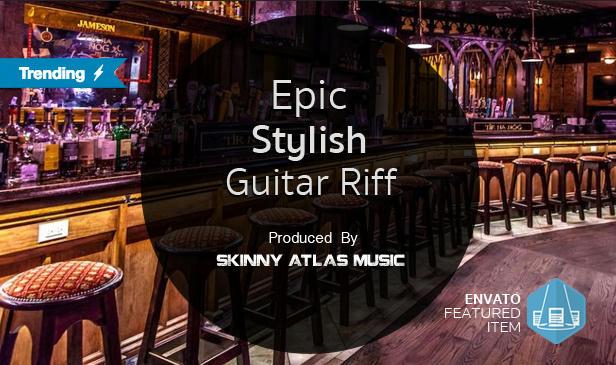 Epic Stylish Guitar Riff - 1