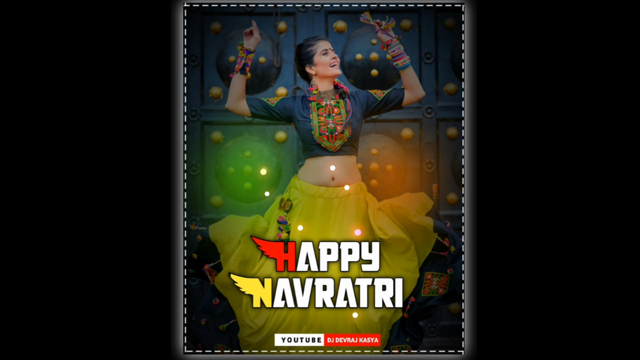 Navratri Special Avee Player Template Download