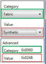 [Intermediaire]  S4PE - Modifier les informations de type catégories (flags) et couleurs (swatchcolor) d'un package 05e22cu3iy1etdc6g