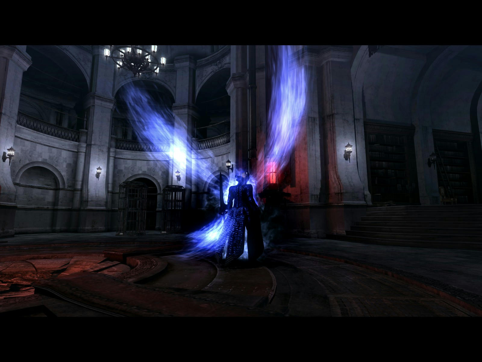 Dante's Azure Dragon's Phoenix DT aura for Vergil