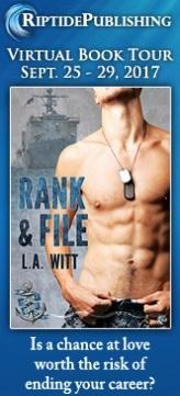 L.A. Witt - Rank & File TourBadge