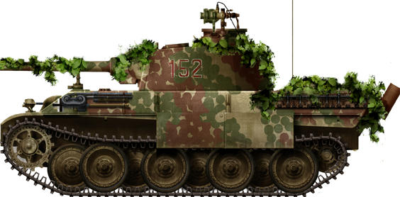 Ground Forces Modification Extra Armour And Camouflage