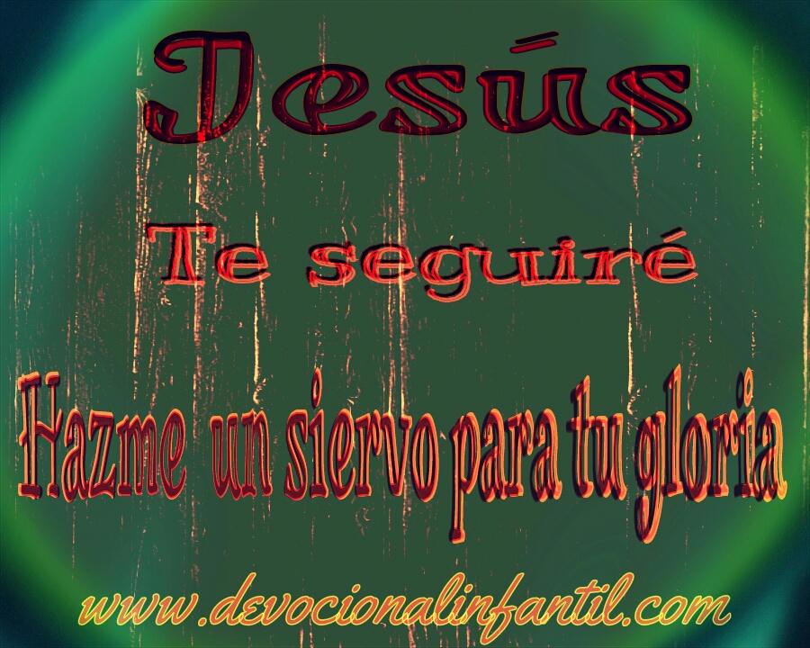 Hazme un siervo para tu gloria – Tarjeta