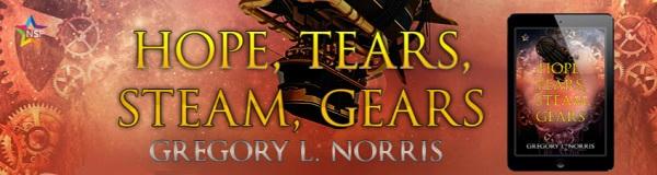 Gregory L. Norris - Hope, Tears, Steam, Gears NineStar Banner