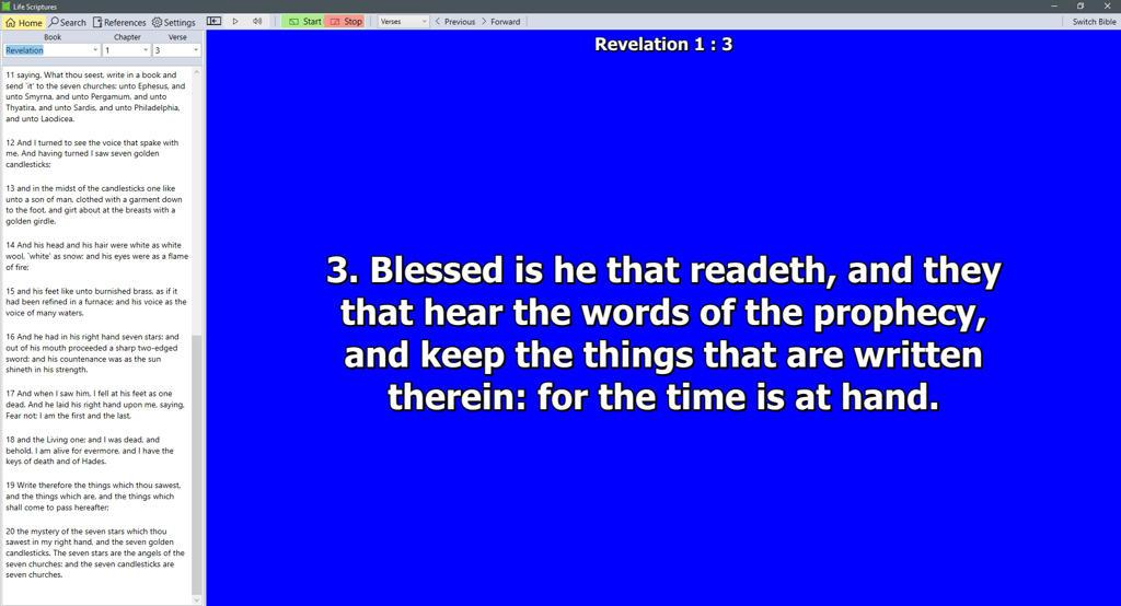 Life Scriptures