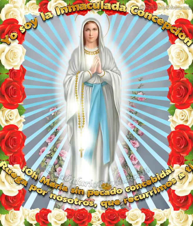 Virgen de Lourdes; Virgen del Rosario