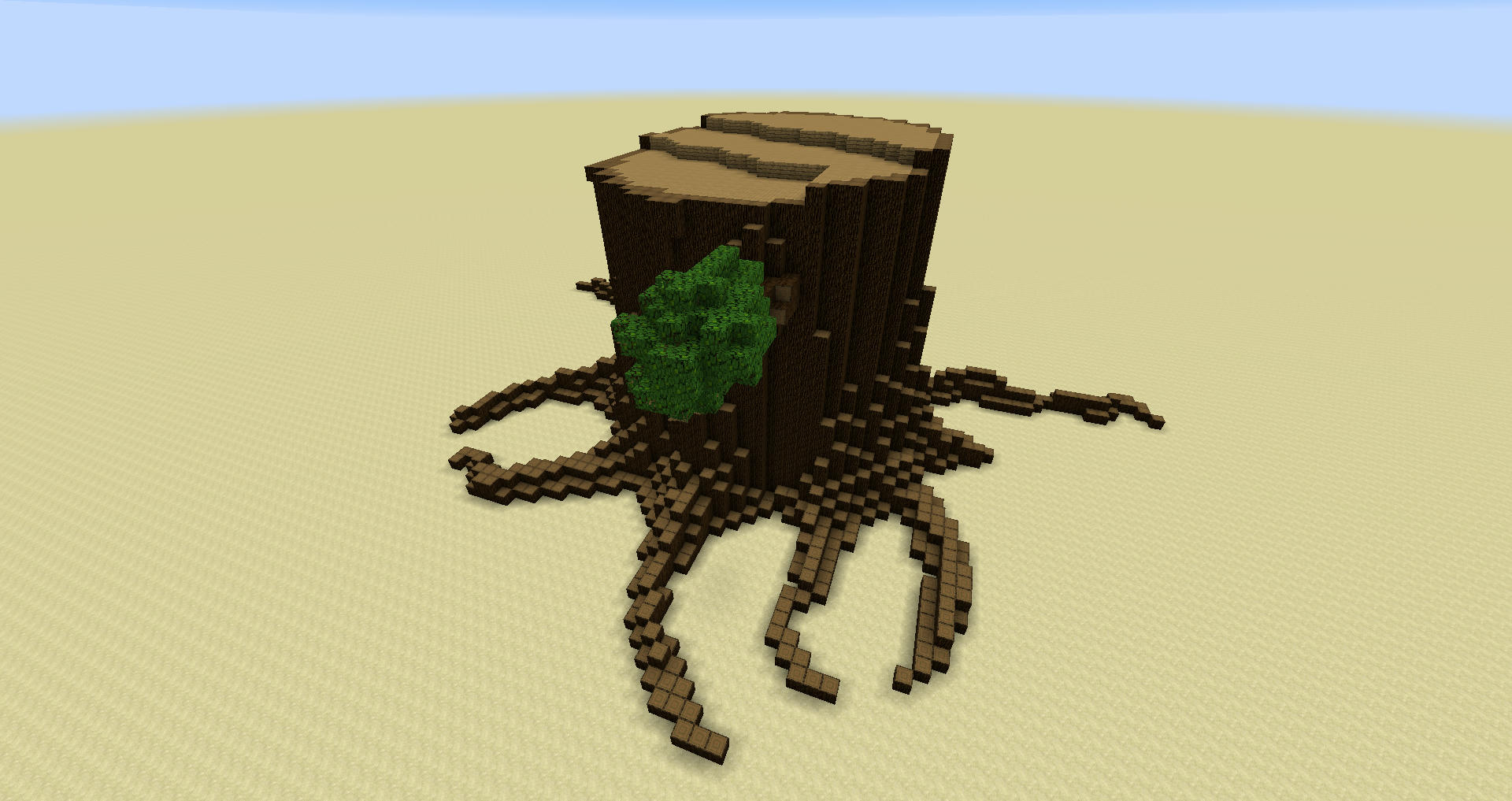 Minecraft How To Get A Large Tree