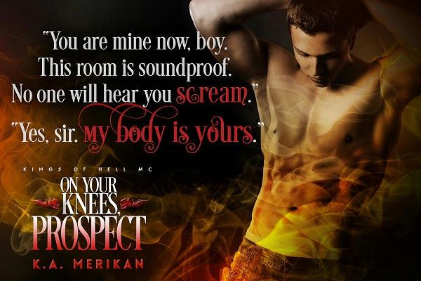 K.A. Merikan - On Your Knees, Prospect Teaser2