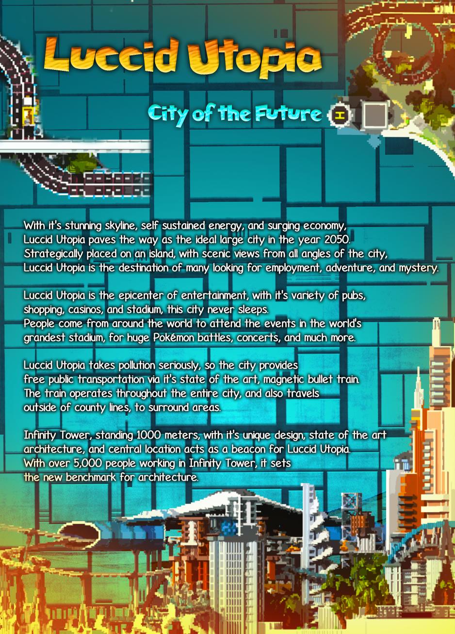 Luccid Utopia - City of the Future Minecraft Map