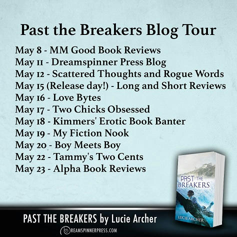 Lucie Archer - Past the Breakers BT Banner