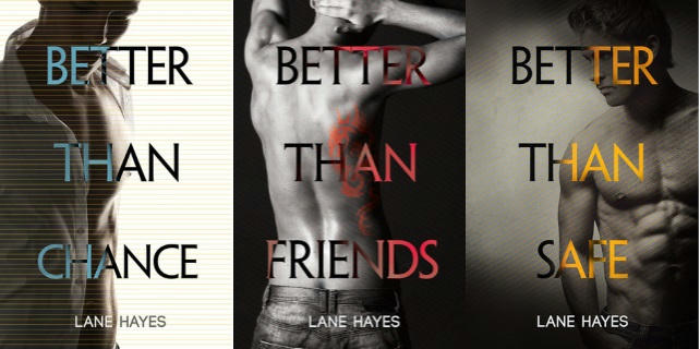 Lane Hayes - Better Than series banner