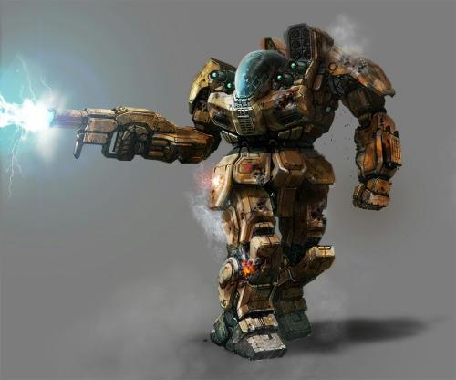 Image result for battlemaster original art battletech