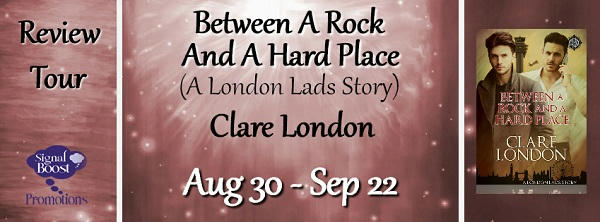 Clare London - Between A Rock & A Hard Place RTBanner