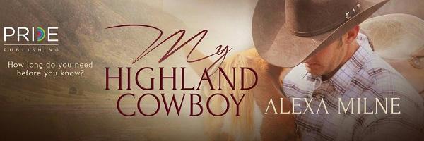 Alexa Milne - My Highland Cowboy Banner