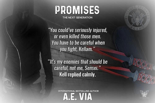 A.E. Via - Promises 05 - New Beginnings Teaser
