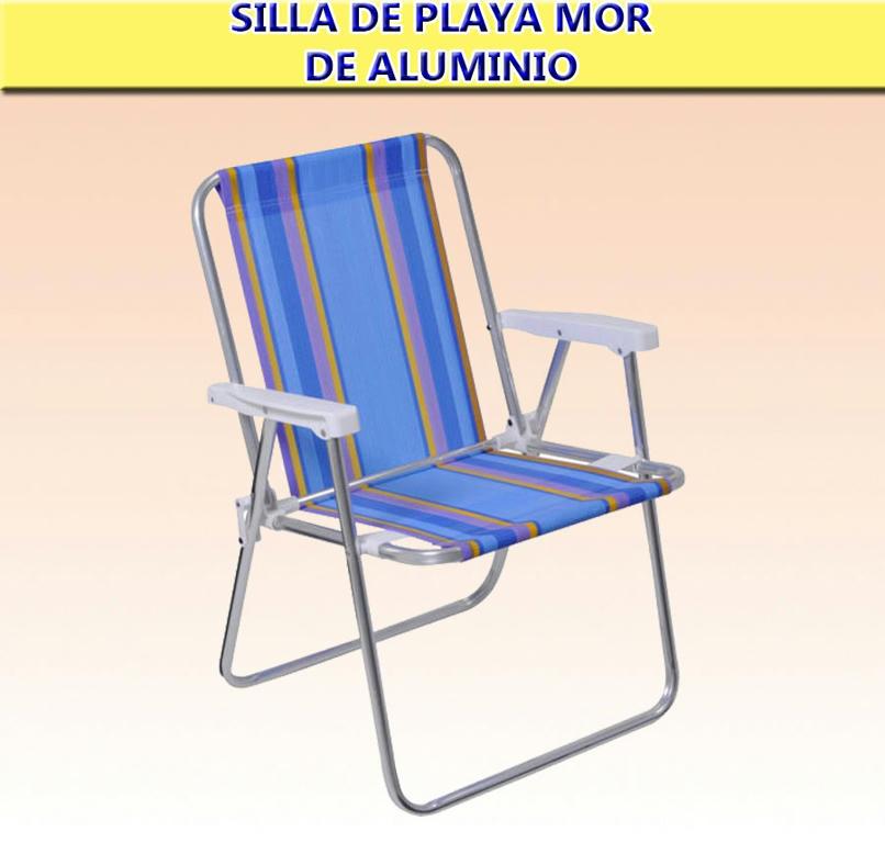Silla de playa de aluminio mor env os lcm 690 00 en for Sillas montevideo