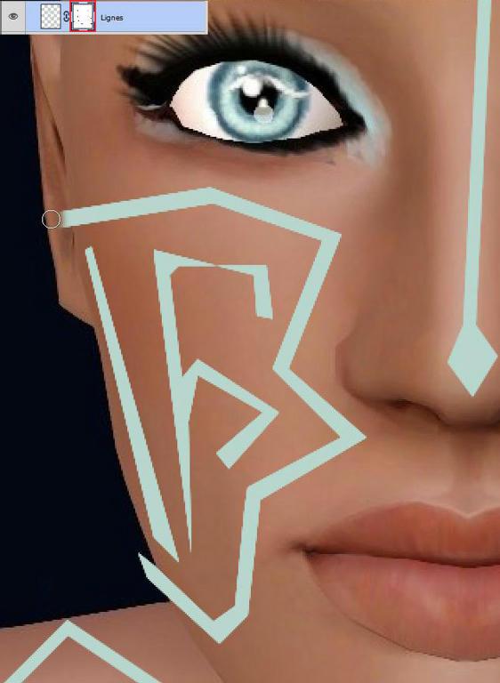 [Apprenti] Effet futuriste - Créer des lignes sur la peau Nak7oh8yqfkc4qu6g