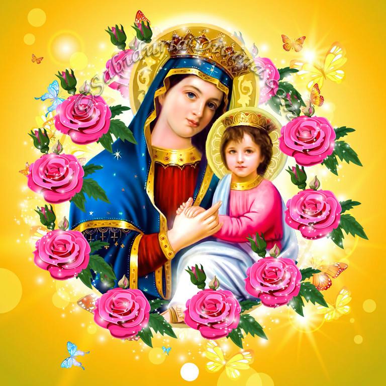 Virgen Maria con Niño Jesus