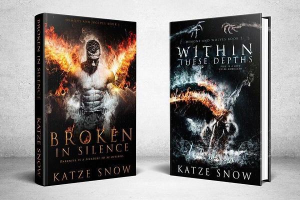 Katze Snow - Demons & Wolves 3d Covers