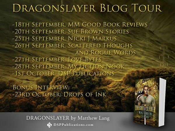 Matthew Lang - Dragonslayer Blog-Tour