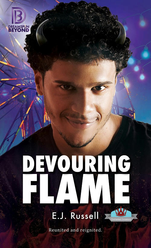 E.J. Russell - Devouring Flame Cover