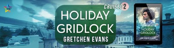 Gretchen Evans - Holiday Gridlock NineStar Banner