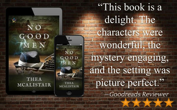 Thea McAlistair - No Good Men Review Graphic