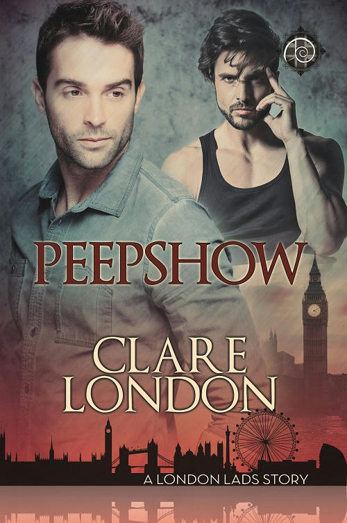 Clare London - Peepshow Cover