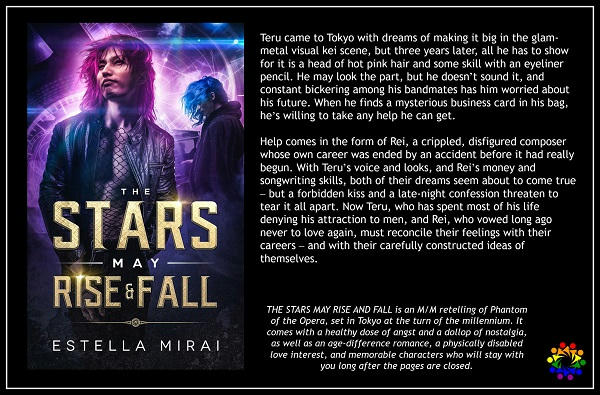 Estella Mirai - The Stars May Rise and Fall Blurb