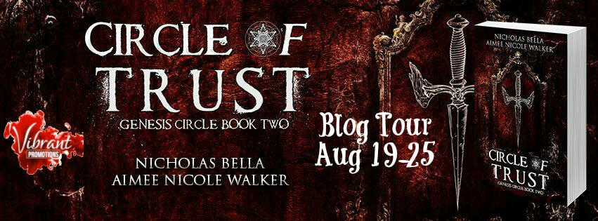 Aimee Nicole Walker & Nicolas Bella - Circle of Trust Tour Banner