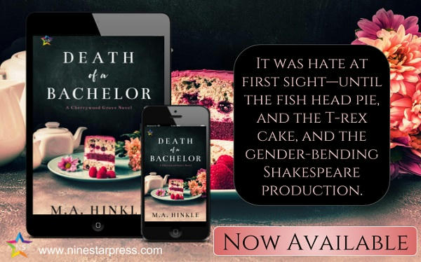 M.A. Hinkle - Death of a Bachelor Now Available
