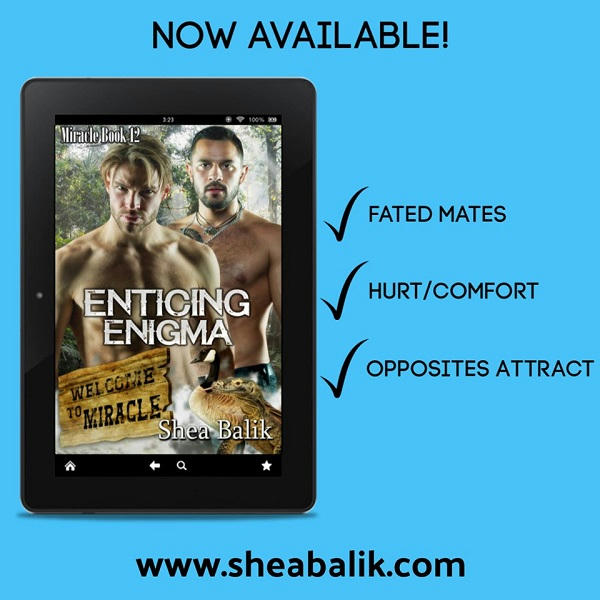 Shea Balik - Enticing Enigma aVAILABLE nOW