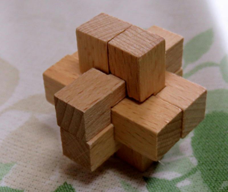 Wood Puzzle Series 4, #1 | threestepsoverjapan