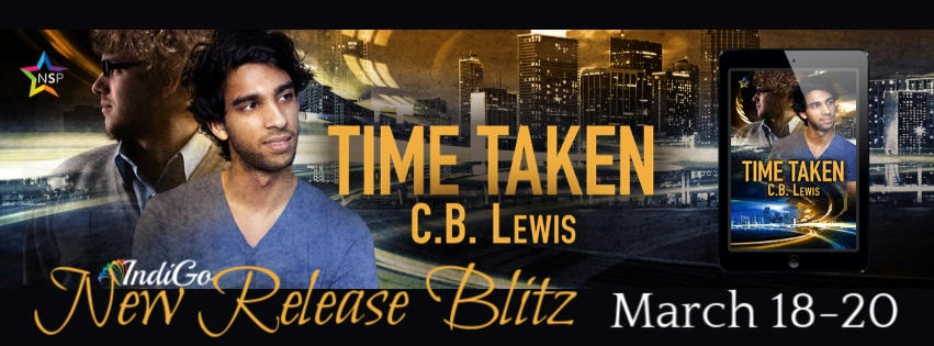 C.B. Lewis - Time Taken RB Banner