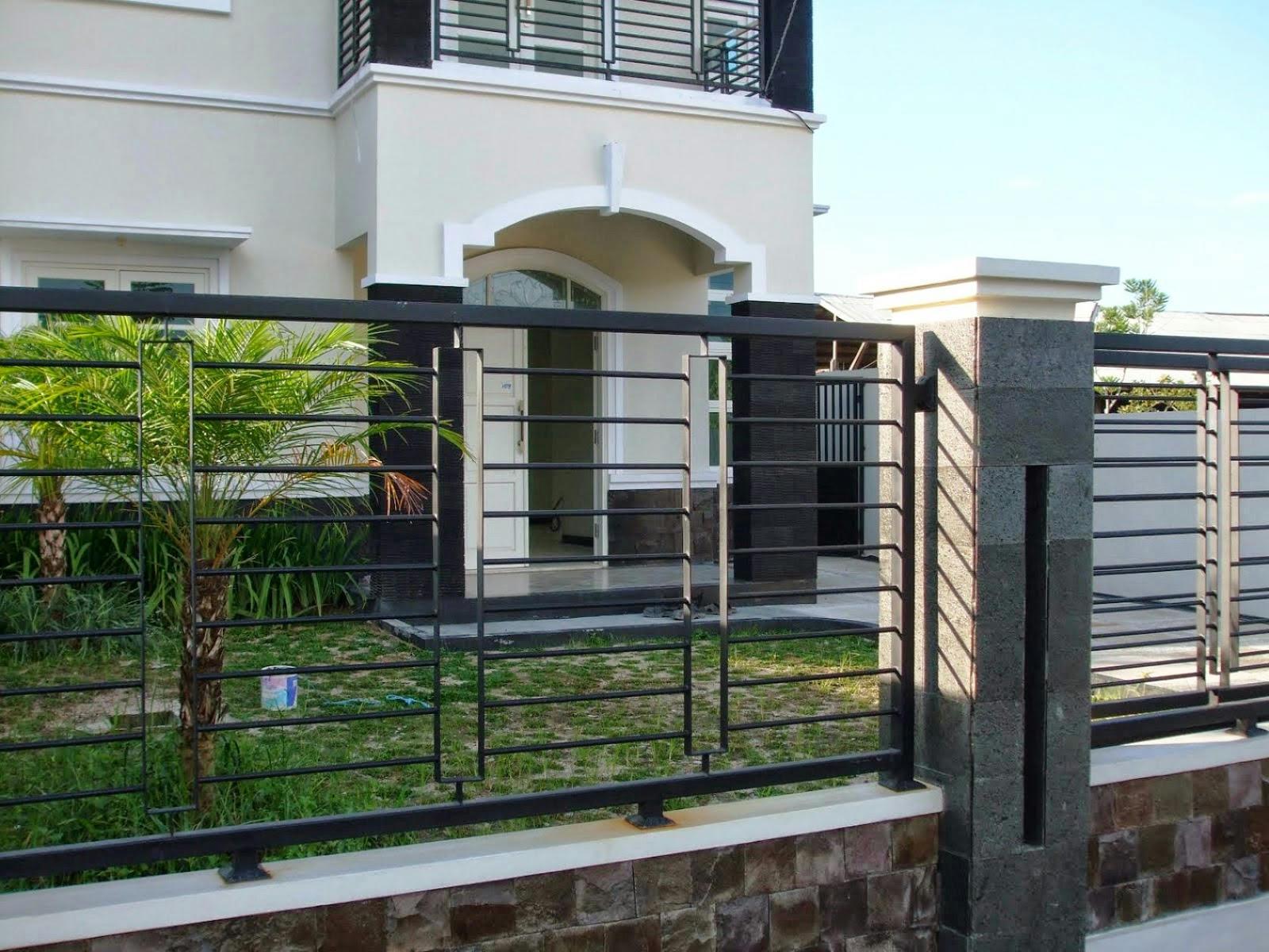 Contoh Pagar Rumah Minimalis 2016 Creo House