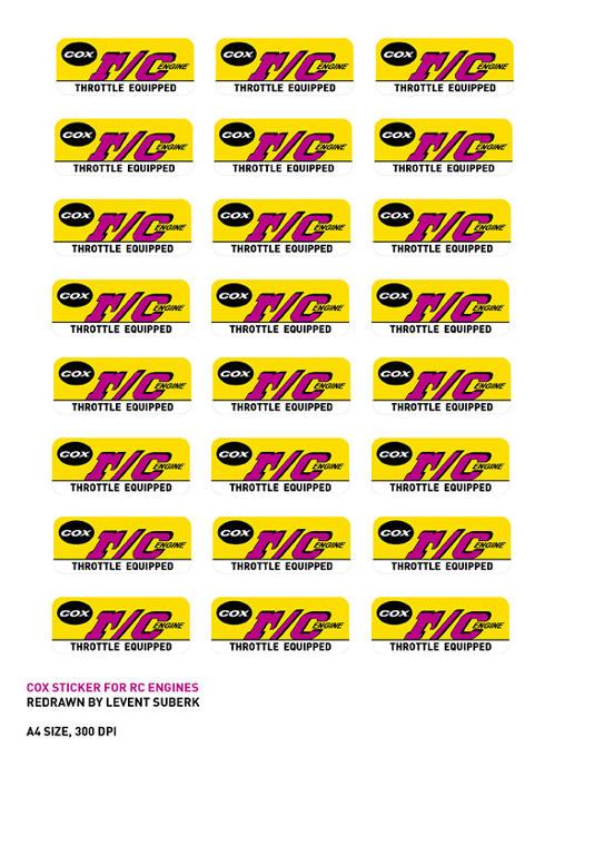 Cox RC Sticker Reproduction U2u7yczqt5h9v2v6g