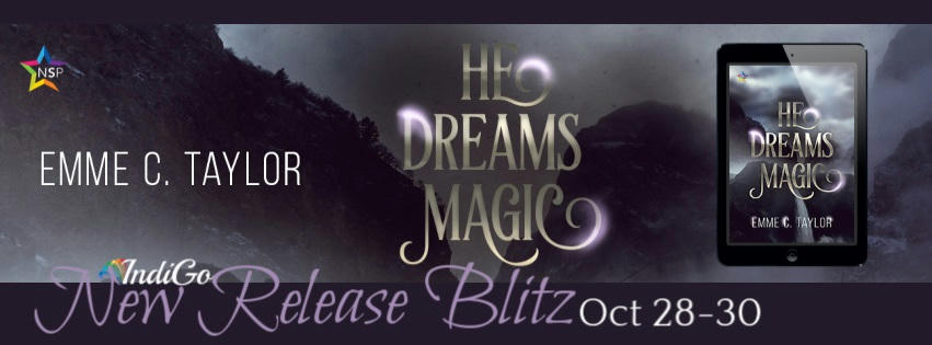 Emme C. Taylor - He Dreams Magic RB Banner