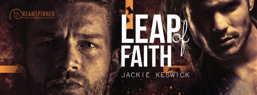 Jackie Keswick - Leap of Faith Banner