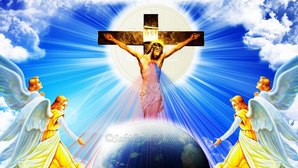 Divina Misericordia. Jesús yo confio en ti. La hora de la Misericordia. Rayos de agua y Sangre del Corazon Misericordioso de Nuestro Señor
