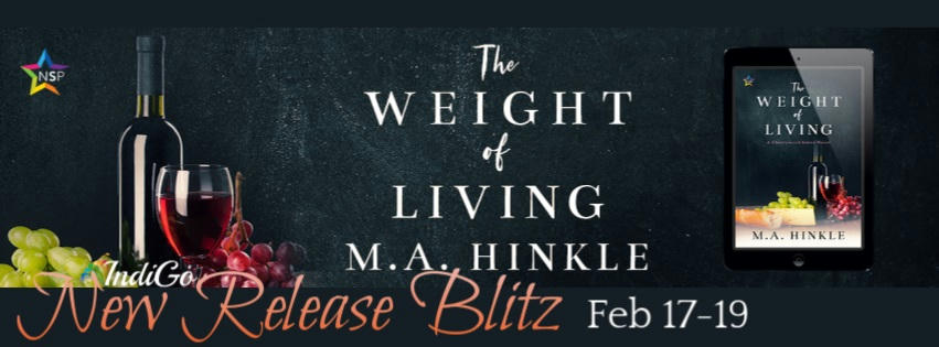 M.A. Hinkle - The Weight of Living RB Banner