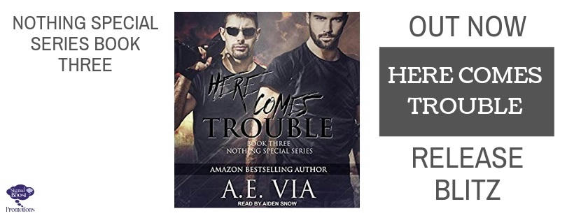 A.E. Via - Here Comes Trouble RBBANNER-50