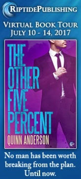 Quinn Anderson - The Other Five Percent TourBadge