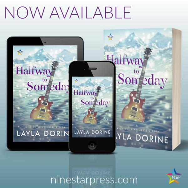 Layla Dorine - Halfway to Someday Now Available