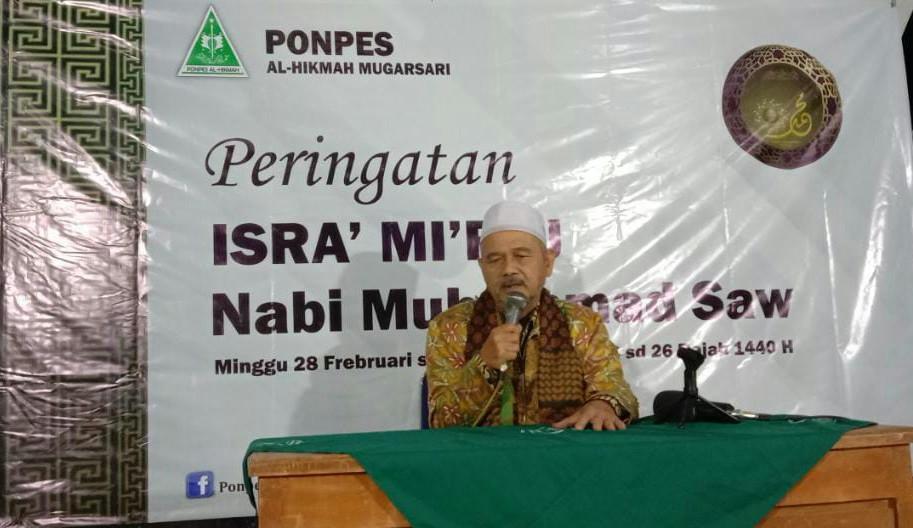 Peringati Isra Mi'raj, Selama 10 Hari Ponpes Al-Hikmah Mugarsari Kaji Kitab Qishatul Mi'raj
