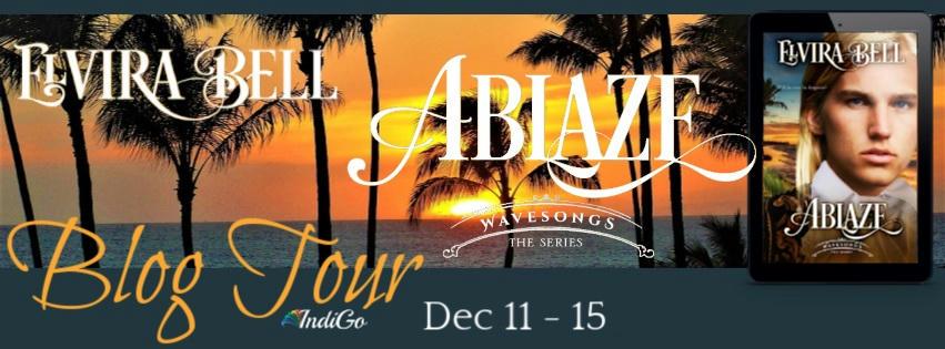 Elvira Bell - Ablaze Tour Banner