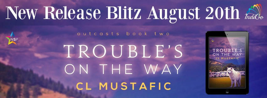 C.L. Mustafic - Trouble's On the Way RB Banner