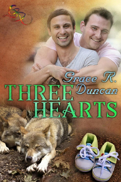 Grace R. Duncan - Three Hearts Cover