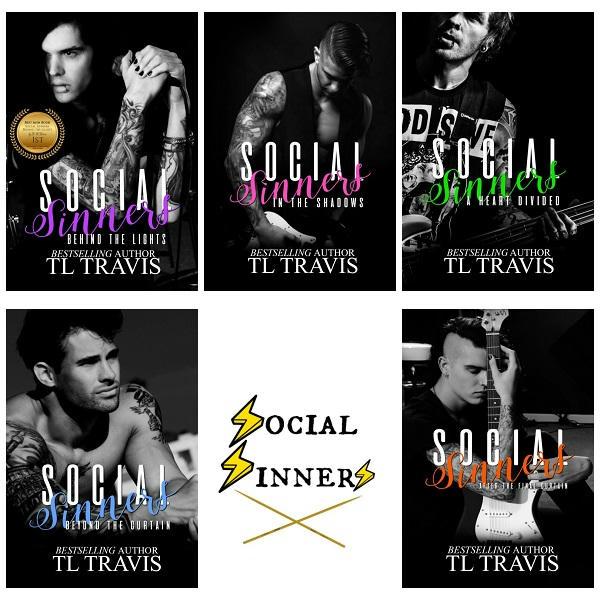 T.L. Travis - Social Sinners logo