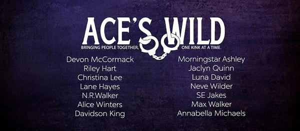 Ace's Wild author Banner
